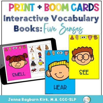 Interactive Vocabulary Book: Five Senses