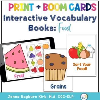 Interactive Vocabulary Book: Food