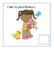 Interactive Vocabulary Book :  I Like Spring (for AAC, non
