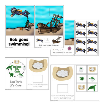 Interactive Vocabulary Book: Ocean