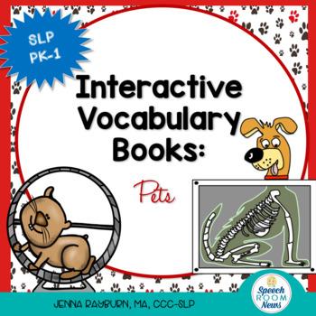 Interactive Vocabulary Book: Pets