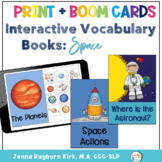 Interactive Vocabulary Book: Space