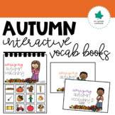 Interactive Vocabulary Booklets: Autumn Edition
