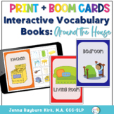 Interactive Vocabulary Books: Around the House