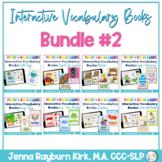 Interactive Vocabulary Books: Bundle 2