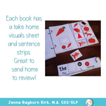 Interactive Vocabulary Books: Color Books