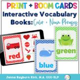 Interactive Vocabulary Books: Color Books Print & Boom Decks
