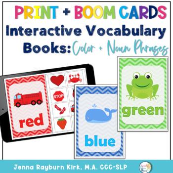 Interactive Vocabulary Books: Color Books