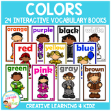 Interactive Vocabulary Books: Colors