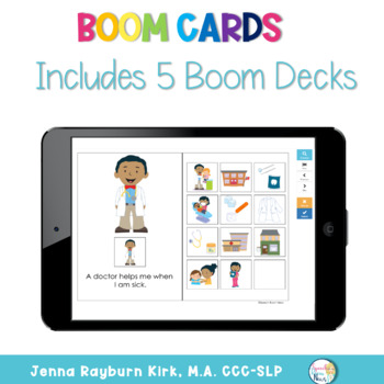 Interactive Vocabulary Books: Community Helpers
