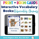 Interactive Vocabulary Books: Hibernating Animals