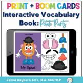 Interactive Vocabulary Books: Potato Parts
