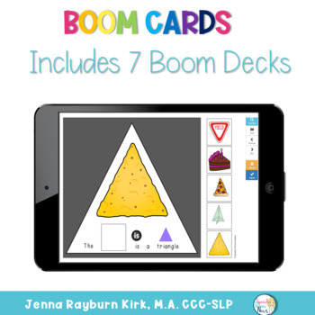Interactive Vocabulary Books: Shapes