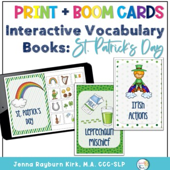 Interactive Vocabulary Books: St. Patrick's Day