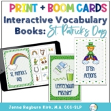 Interactive Vocabulary Books: St. Patrick's Day Print with