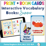Interactive Vocabulary Books: Summer Fun