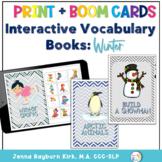 Interactive Vocabulary Books: Winter