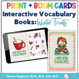 Interactive Vocabulary Books: Winter Treats