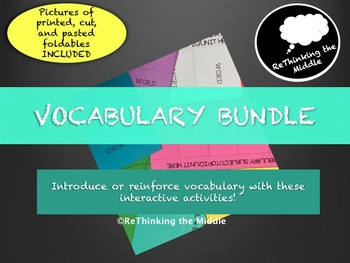 Interactive Vocabulary Bundle
