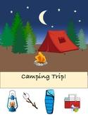 Interactive Vocabulary Camping Book