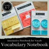 Interactive Vocabulary Dictionary: Grades 5-7-- Word of the Week