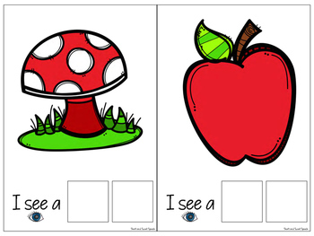 Interactive Vocabulary Expansion Activity: What Do You See? (Attribute + Object)