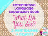 Interactive Vocabulary Expansion: What Do You See? (2 Attr