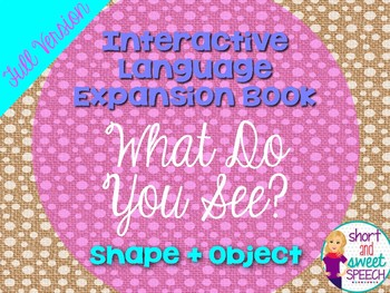 Interactive Vocabulary Expansion: What Do You See? (Shape + Object)
