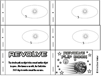 Interactive Vocabulary Flip Book Revolve