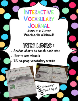 Interactive Vocabulary Journal