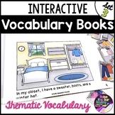 Interactive Vocabulary Mini Books Set 3 ~ Great for Buildi