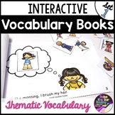 Interactive Vocabulary Mini Books Set 1 - Great for Building ELL Vocabulary