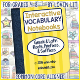 Greek and Latin Root Words, Prefixes, and Suffixes Interactive Notebook