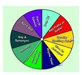 Interactive Vocabulary Wheel