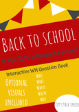 Interactive WH Question Book