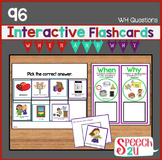 Interactive WH Question bundle: When, Why, Autism, AVB, ABA
