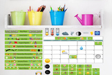 Interactive Wall Calendar Play Set