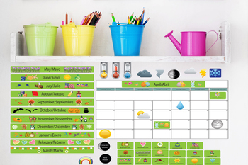 Interactive Wall Calendar Play Set