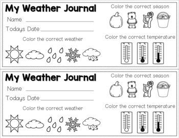 Weather Graphing Activities