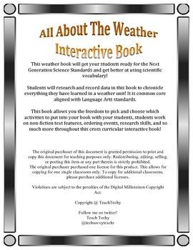 Interactive Weather Notebook