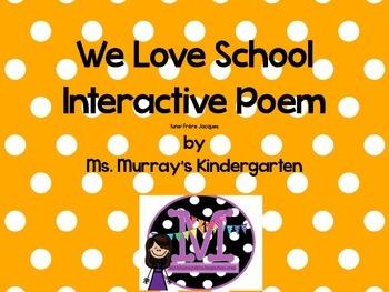 Interactive Week Long Poetry Pack. School Theme