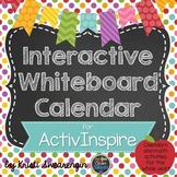 Interactive Whiteboard Calendar for ActivInspire