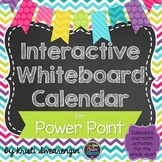 Interactive Whiteboard Calendar for Power Point