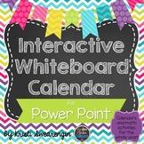 Interactive Whiteboard Calendar for Power Point