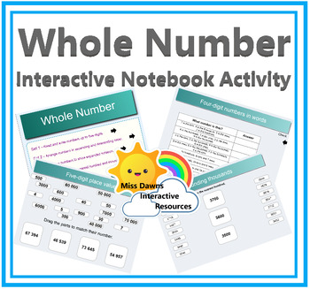 Interactive Whole Number - Place Value Activities for IWB