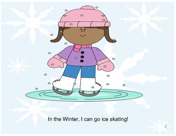Interactive Winter Book (2): PRE-K / AUTISM