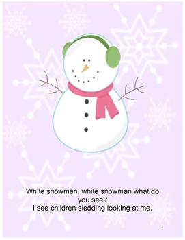Interactive Winter Book (4): PRE-K / AUTISM