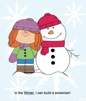 Interactive Winter Books (Bundle) - PRE-K / AUTISM