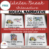 Interactive Winter Break Social Narrative for Students wit