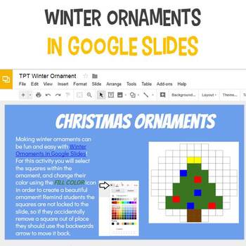 Interactive Winter/Christmas Ornaments